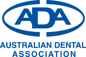 The logo for the Australian Dental Association.